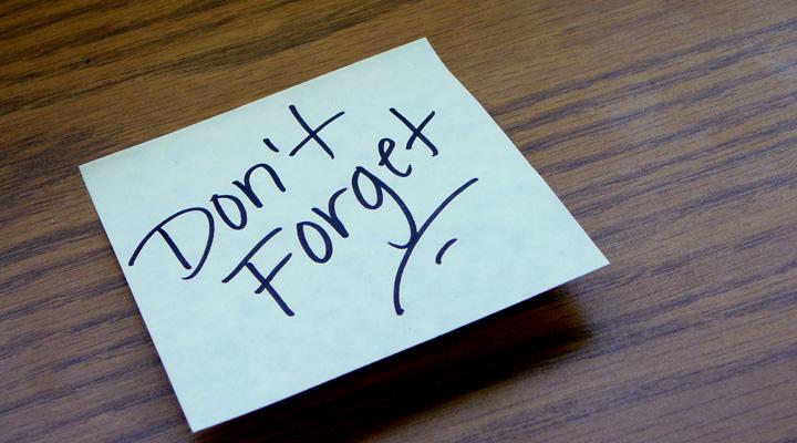 Il diritto di poter essere dimenticati