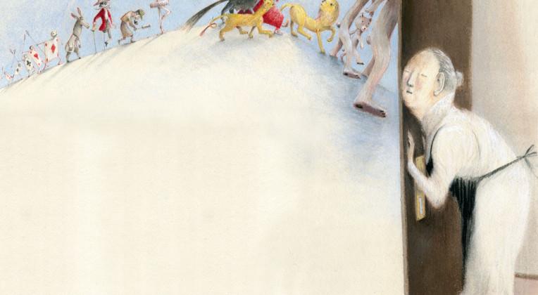 Sogni, suggestioni e ricordi usano la matita di Eva Montanari per volare
