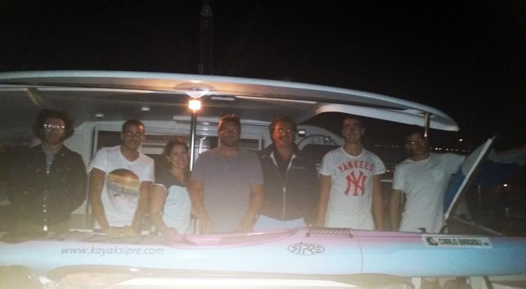 Sulla rotta di Marino: Marco Nicolini salpato alla volta dell'isola di Arbe